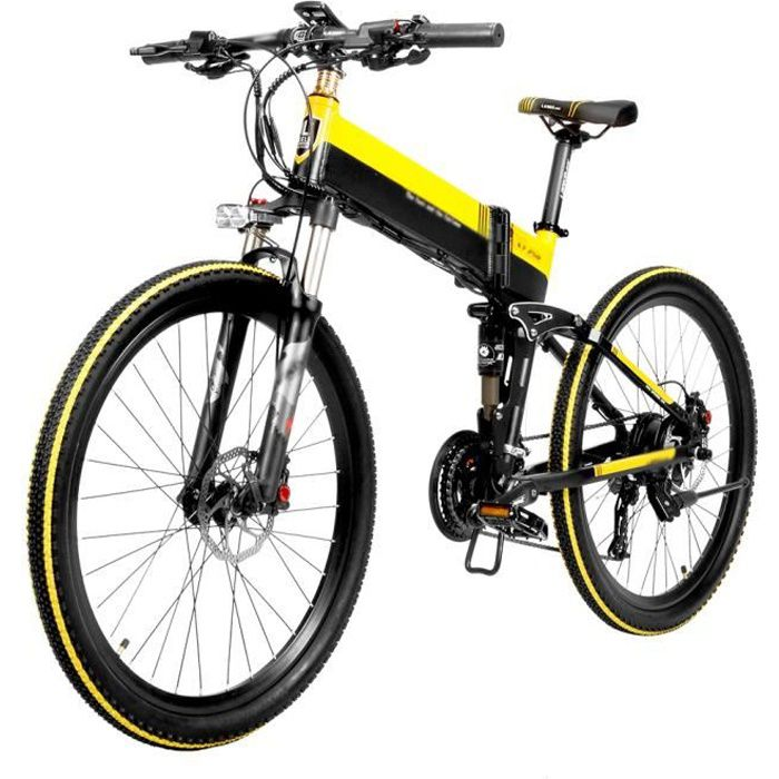 Vélo assistance Electrique - Cyclomoteur E-Scooter VTT Electrique - 400W 35 km / h - Batterie 10,4Ah / 48V