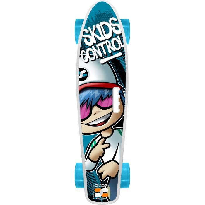 STAMP Skateboard 22 x 6 avec poignée Skids Control