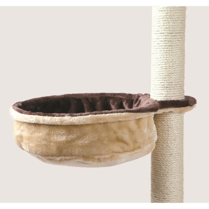TRIXIE Sac confort pour arbre à chat - Brun et beige - Pour chat