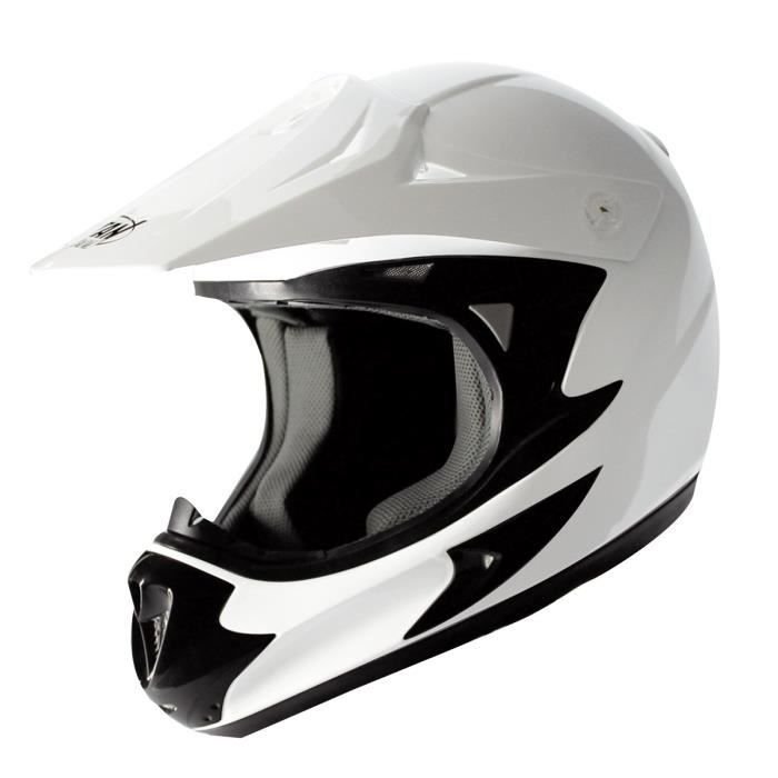 TYTAN ROAD Casque cross force blanc