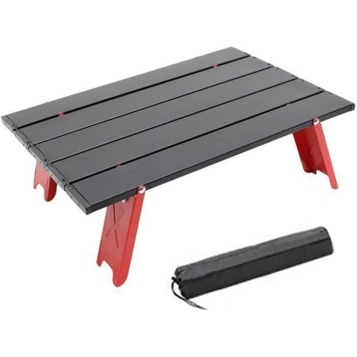 ZF27786-Table basse pliante de camping, ultralégère, compacte, idéale pour la plage, le pique-nique ou l'extérieur, idéale pour le