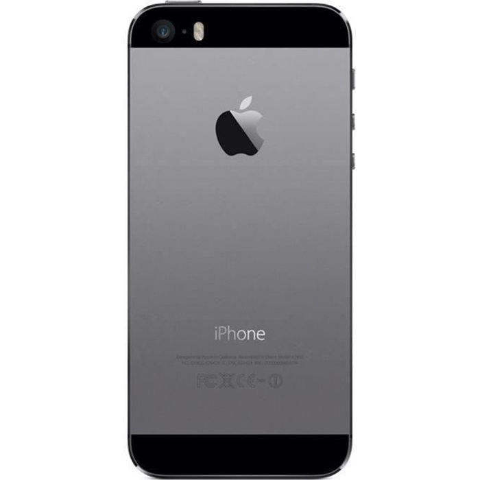iphone 5s 16gb space gray occasion comme neuf achat smartphone pas cher avis et meilleur. Black Bedroom Furniture Sets. Home Design Ideas