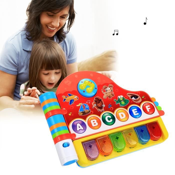 enfants jouet lectronique livre de comptines musicales avec lumi re achat vente livre. Black Bedroom Furniture Sets. Home Design Ideas