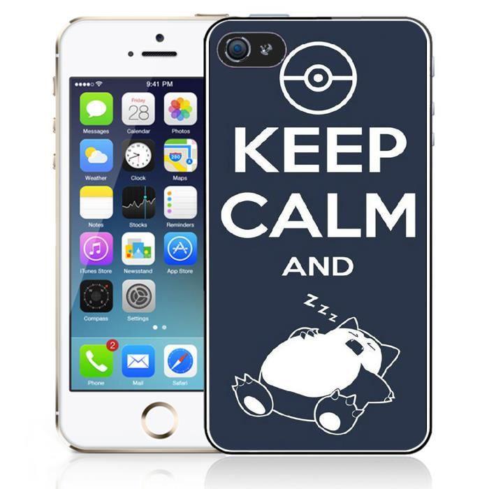 coque iphone 4 4s keep calm ronflex