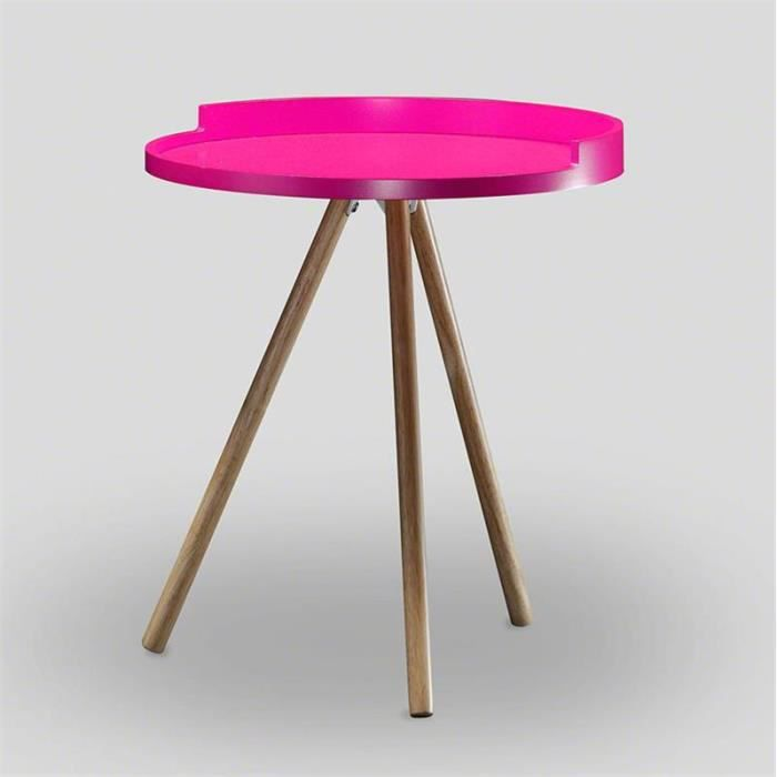 Table d 39 appoint scandinave rose achat vente table d - Table d appoint scandinave ...