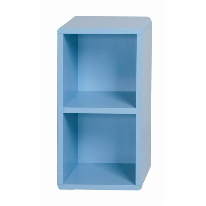 cube de rangement 2 cases bleu id 39 clik achat vente. Black Bedroom Furniture Sets. Home Design Ideas