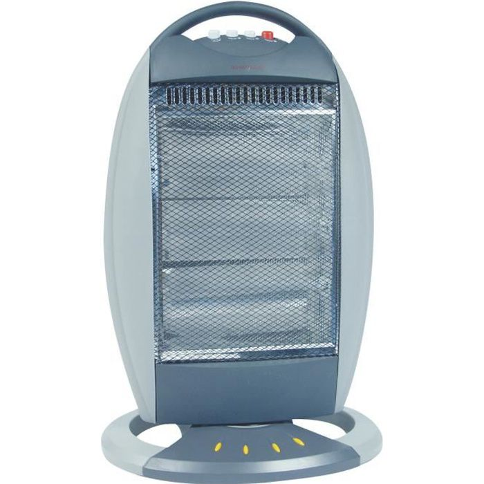 400-800 W ménage Voyage Quartz Halogène instantané électronique chauffage