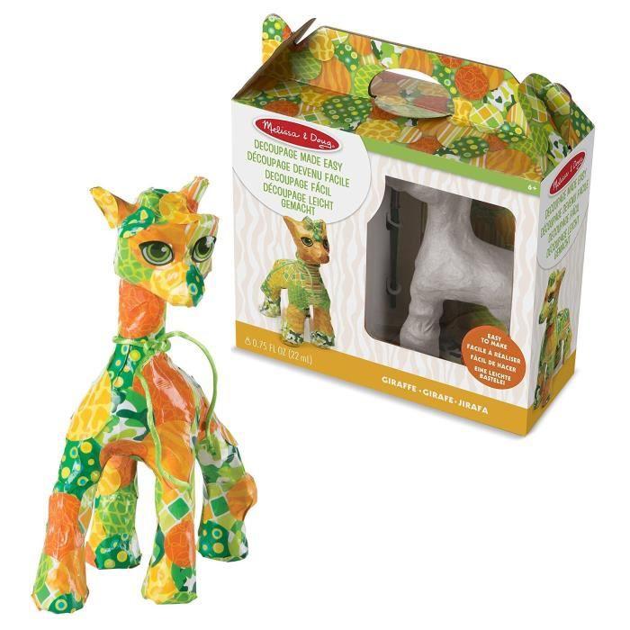 Kit décopatch MELISSA & DOUG Découpage Devenu Facile - Girafe