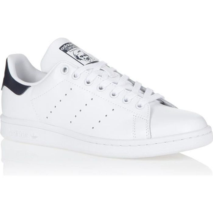 ADIDAS ORIGINALS Baskets STAN SMITH - Homme - Blanc/Bleu