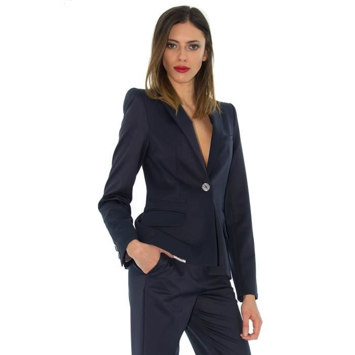 le blazer renoma bleu marine bleu achat vente veste le blazer renoma bleu marine cdiscount. Black Bedroom Furniture Sets. Home Design Ideas