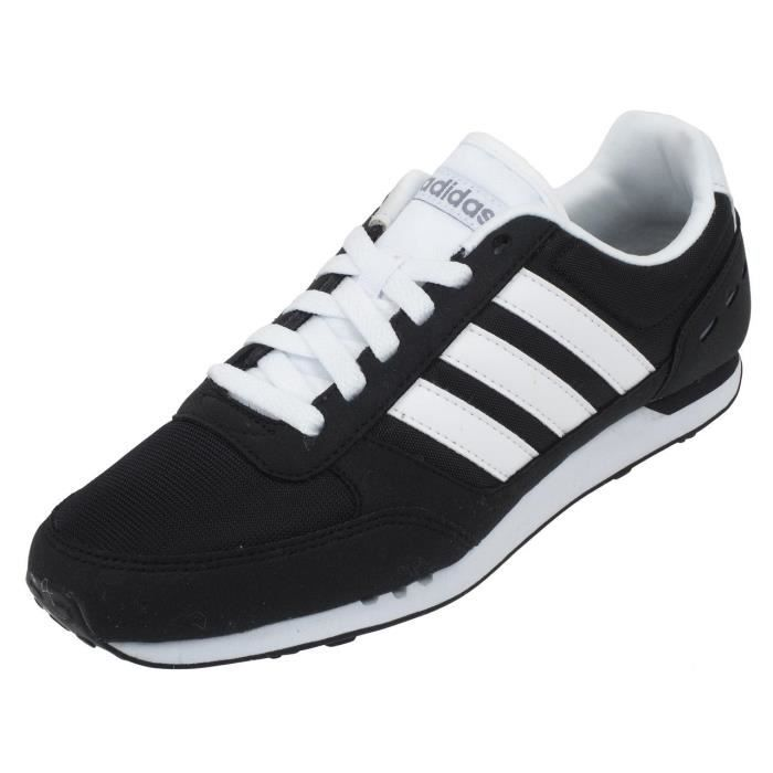 Basses Adidas Chaussures Cuir City Synthétique Noir Ou Racer Neo tsQdhrC