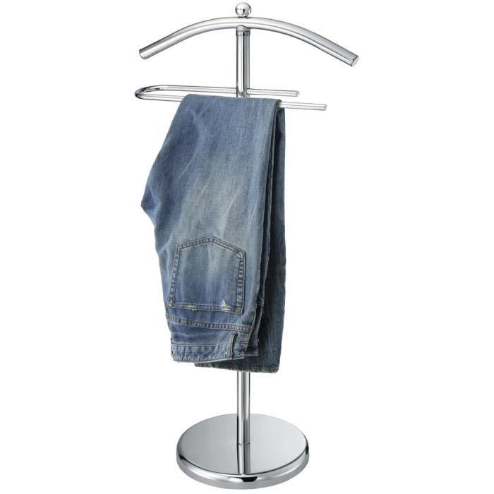 Valet De Chambre Meuble Portant Design Luxe En Inox Chevalet Dressing  Vêtement.
