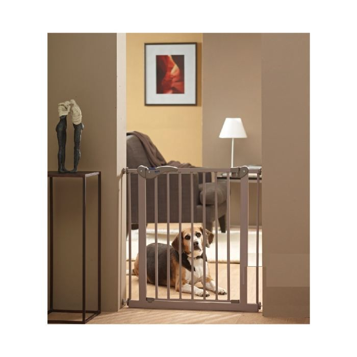 barri re de porte pour chien cm barri re de porte qui contr le l 39 acc s de votre chien. Black Bedroom Furniture Sets. Home Design Ideas