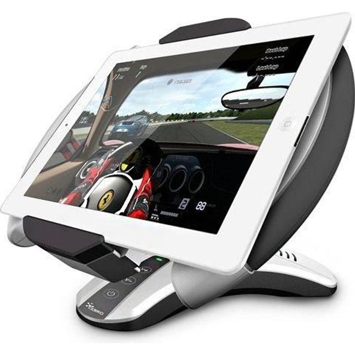 VOLANT PC Cideko AD22 Support + volant pour Tablette