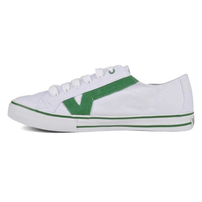 Chaussure Basse VANS Tory True White Green Unisex Pointure 40