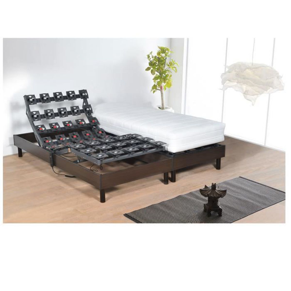 alitea relax ensemble lectrique ensemble virtuose viscospring 2x90x200 achat vente. Black Bedroom Furniture Sets. Home Design Ideas