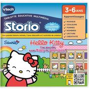 JEU CONSOLE ÉDUCATIVE VTECH Jeu Storio Educatif Storio Hello Kitty