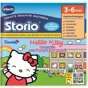 VTECH Jeu Storio Educatif Storio Hello Kitty