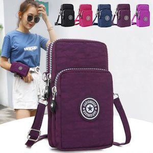 Noir Ouneed/® Femmes Telephone Sac a Main en Cuir Souple Mini Smart Phone Bag