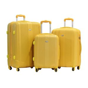 "SET DE VALISES Set de 3 Valises - Alistair ""Airo""-Abs Ultra Leger"