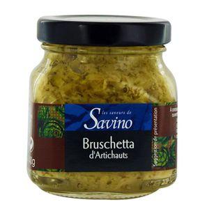 ARTICHAUTS Bruschetta d'artichauts - Les Saveurs de Savino -