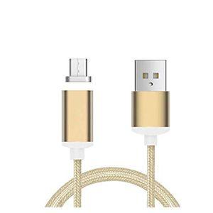 COQUE - BUMPER Cable de charge magnétique Micro USB nylon 1M pour
