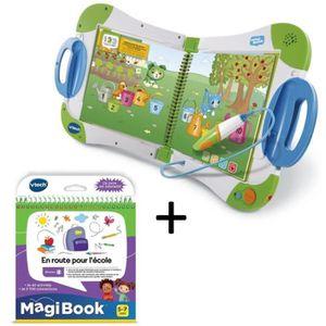 LIVRE INTERACTIF ENFANT VTECH - MagiBook Starter Pack Vert & En route pour