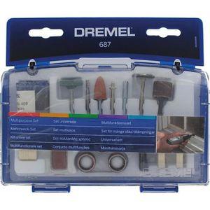 ACCESSOIRE MACHINE DREMEL Kit pour travaux généraux de 52 pièces 687