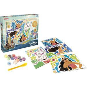 JEU DE SABLE À MODELER LANSAY Crea'Sable Vaiana Disney - 25105 - Loisir c