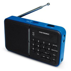 RADIO CD CASSETTE METRONIC Radio Portable Fm/Usb