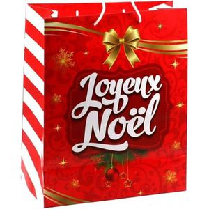 XXL Nikolaus Sac De Noël Sac Cadeau Sachet Noël Emballage Rouge