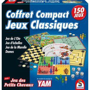 JEU SOCIÉTÉ - PLATEAU 150 jeux compacts