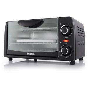 MINI-FOUR - RÔTISSOIRE TRISTAR OV-1431-Mini four grill-9 L-800 W-Noir
