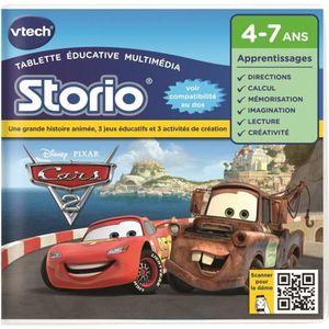 JEU CONSOLE ÉDUCATIVE VTECH - Jeu Éducatif Storio - Cars 2