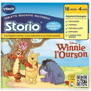 JEU CONSOLE ÉDUCATIVE VTECH - Jeu Éducatif Storio 2 - Winnie l'Ourson