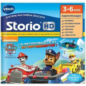 JEU CONSOLE ÉDUCATIVE VTECH - Jeu Éducatif Storio - Tablette HD - Pat' P