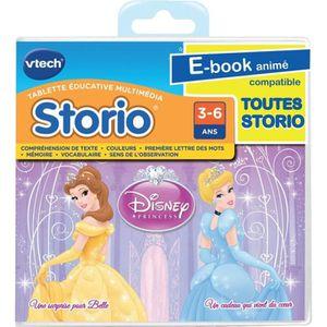 JEU CONSOLE ÉDUCATIVE VTECH Jeu Storio Disney Princesses