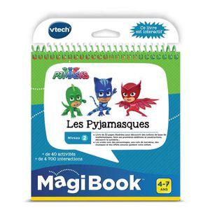 CONSOLE ÉDUCATIVE VTECH - Livre Interactif Magibook - Les Pyjamasque