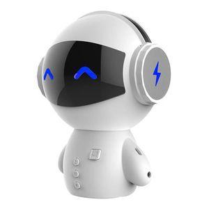 ENCEINTE NOMADE Wotumeo Portable Innovante Robot Bluetooth Haut-Pa