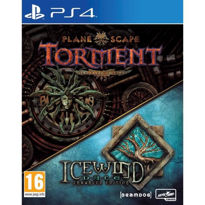 Planescape Torment and Icewindale Jeu PS4