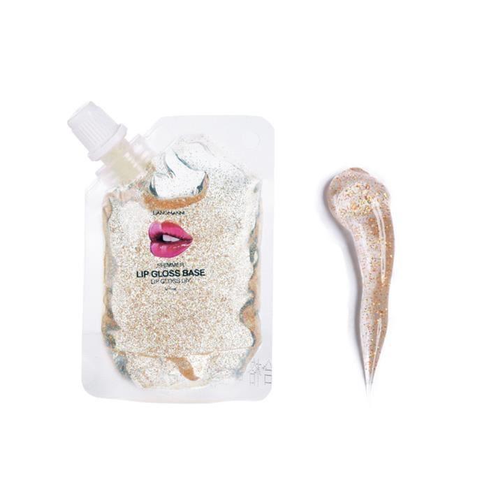 Langmannni New DIY Transparent Lip Gloss Lip Glaze Base Hydratant 20 ml ke4277