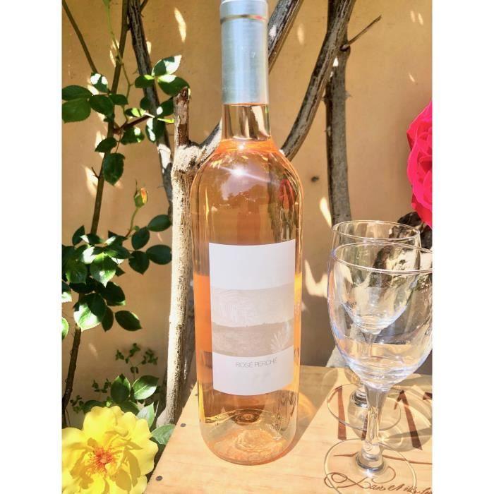 6 bouteilles • Rosé Perché Méditerranée provence CELLIER DES TEMPLIER 2018 6x75cl idéale pour nos fameuse piscine de rosé