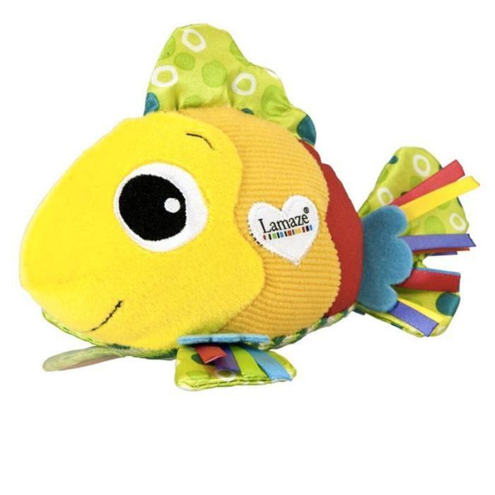 Lit bébé hochets peluche poisson doux éducatifs pour bébé poupée poussette multifonctions Mobiles jouets Lamaze