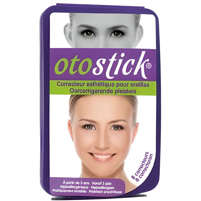 OTOSTICK - Correcteurs esthétiques pour les oreilles décollées