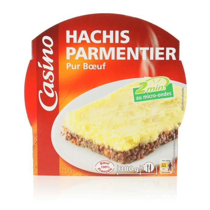 Hachis Parmentier Pur Bœuf 300 g