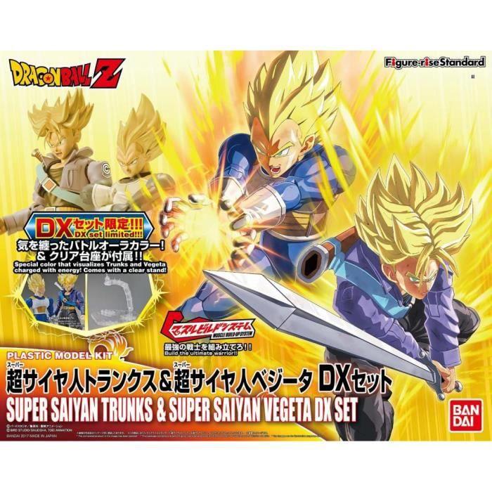 Figurine DRAGON BALL - Model Kit - Super Sayan Vegeta & Trunk 'DX SET'