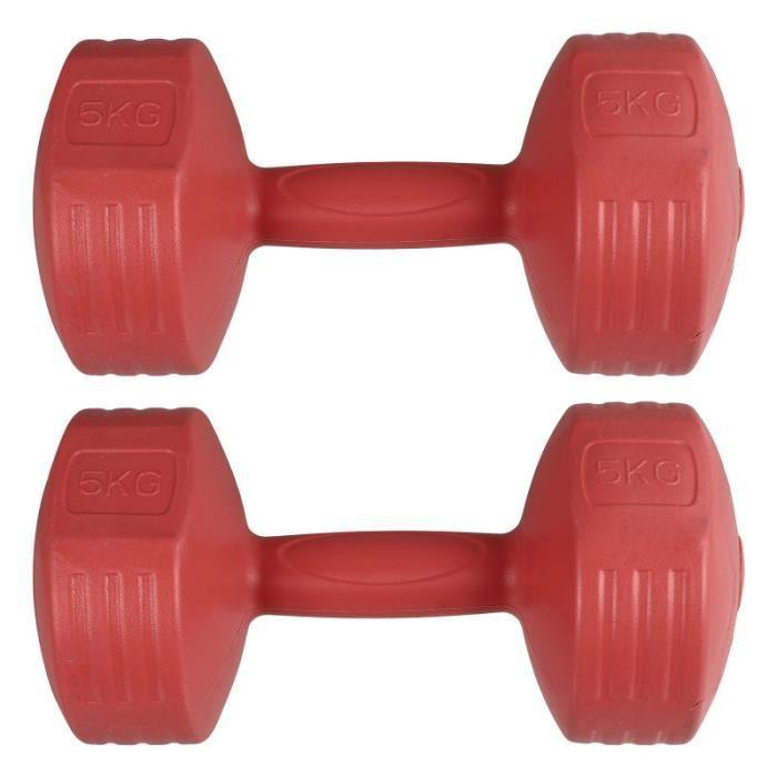 1 paire durable portable créatif enfants d'une haltère d'exercice d'haltère pour barre - haltere - poids fitness - musculation