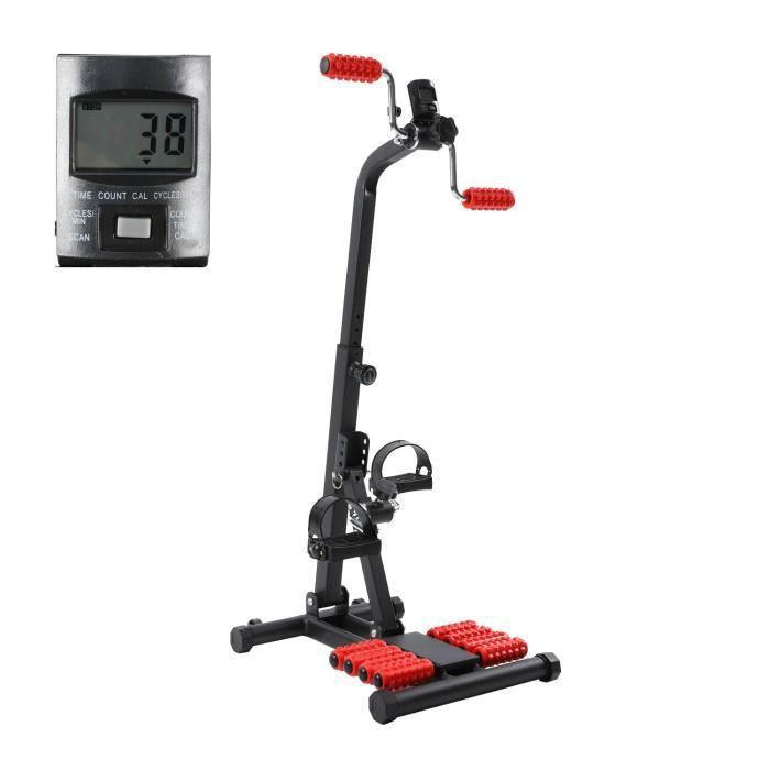 3 en 1 Stepper,Mini Stepper Swing Side avec Guidon et Tapis antidérapant ,Fitness Cardio ExerciseTrainer,Machine à Hauteur réglable