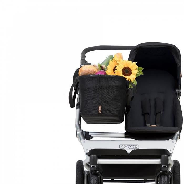 Poussette Mountain Buggy Duet Individuelle V3 Silver