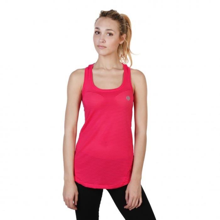 T-Shirt - Elle Sport - Top pour Femme rose Elle Sport